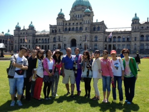 Lily n Forjan n Chinese group students in Victoria