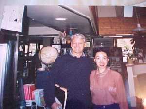 Lily n Gorden campbell at Lily's airport restaurant