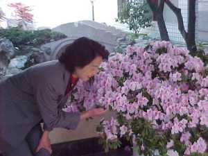 Lily's mum loves flower